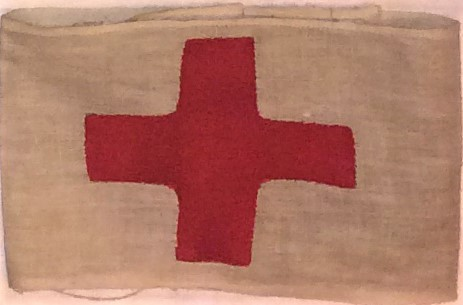 Red cross arm band