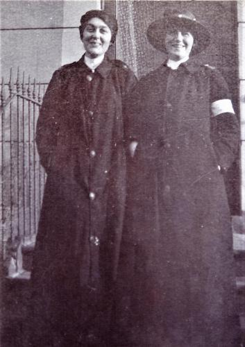 Two St. Martin's Hospital nurses, 1916 LF460-1