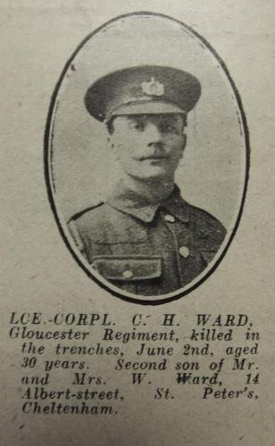 WARD Charles Henry