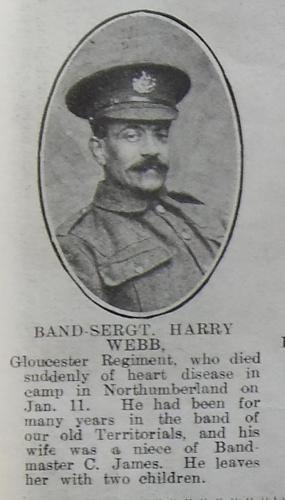 WEBB Harry St Clair Clifford