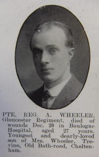 WHEELER Reginald Arthur