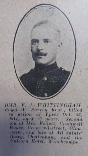 WHITTINGHAM Frederick J