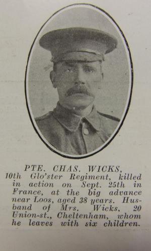 WICKS Charles