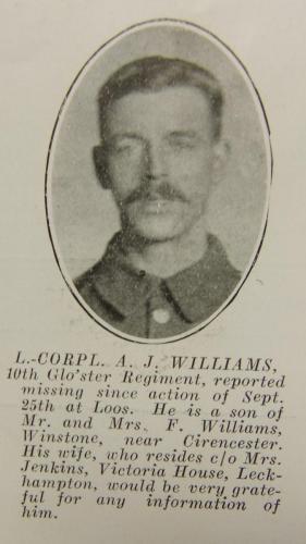 WILLIAMS Albert John