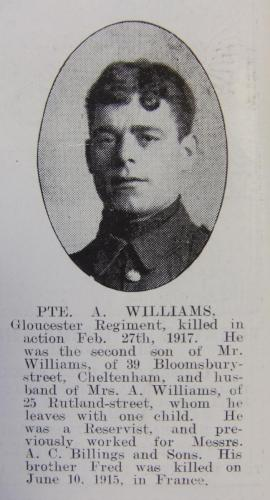 WILLIAMS Alfred