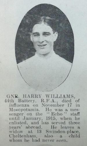 WILLIAMS Harry