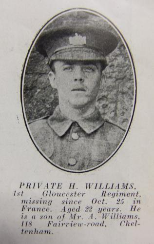 WILLIAMS Henry