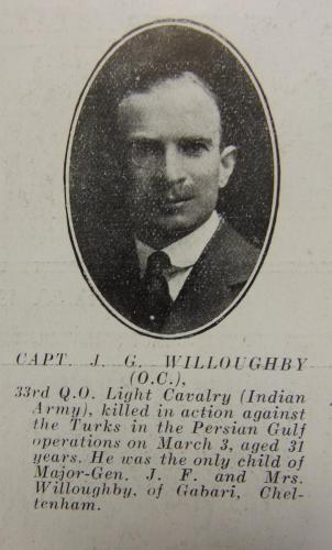 WILLOUGHBY James Gerald