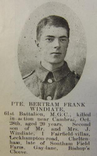 WINDIATE Bertram Frank