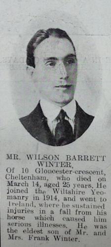 WINTER Wilson Barrett