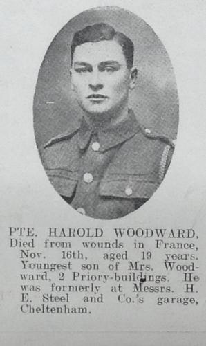 WOODWARD Harold