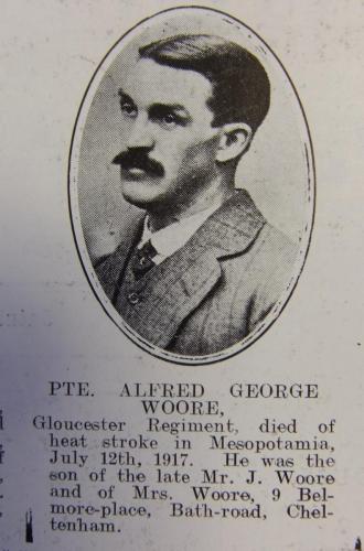 WOORE Alfred George