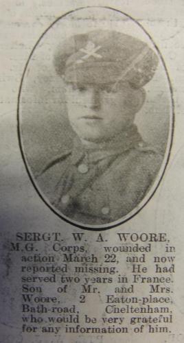 WOORE William Arthur