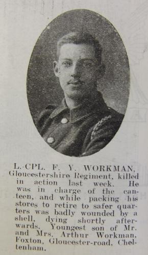 WORKMAN Frederick Yorke